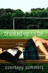 Teenage girl (14-16) lying on bleacher